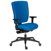 Chair Shapy back in fabric - blue
