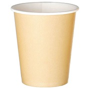 Cups kraft in disposable cardboard 18 cl - set of 100