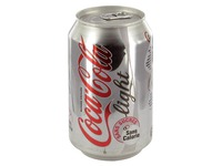 Coca Cola light canette 33 cl - carton de 24