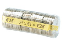 Kit for euro coins 25 x 1 €
