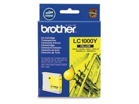 Cartouche Brother LC1000 jaune