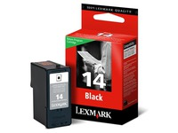 Cartridge Lexmark 14 Schwarz