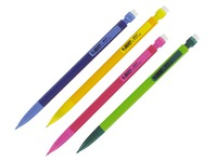 Portemine jetable Matic Fun Bic pointe 0,7 mm HB couleurs assorties