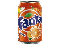 Packung 24 Dosen Fanta Orange 33 cl