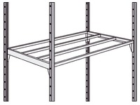 Set of 2 shelves Industripro 100 x 50 cm
