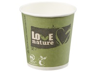Gobelets «Love Nature» compostable