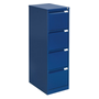 Monobloc filing cabinet, 4 drawers