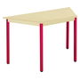 Classic trapezoidal multiform table beige