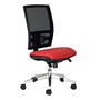 Office chair with mesh back and seat in fabric Bruneau Activ' - Synchronic
